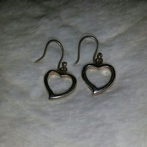 Sterling silver hear earnings